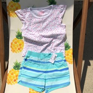 4T outfit shorts and Tee